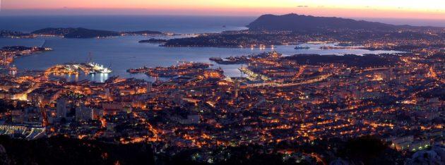 Toulon - La seyne sur mer - Saint mandrier - La valette - La garde - Six fours - Sanary - Bandol - Ollioules - Le Revest - La Crau - Le Pradet - Carqueiranne - Hyères